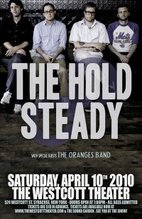 The Hold Steady - Westcott Theater Poster