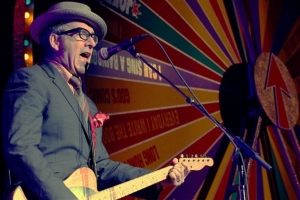 Elvis Costello - June 17 at the Xerox Rochester International Jazz Festival at Eastman Theatre - Photo by Frank De Blase (Rochester City Newspaper)