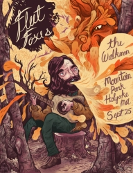 Fleet Foxes - Mountain Park - Holyoke, Mass. poster