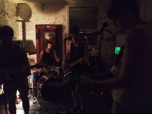 Tropical Punk at Pete's on Cayuga - Ithaca, N.Y. - June 30, 2012 - Photo by Peter Cauvel