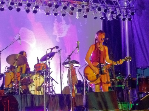 Feist - July 15, 2012 - Buffalo, NY - Erie Canal Harbor - Photo by Peter Cauvel
