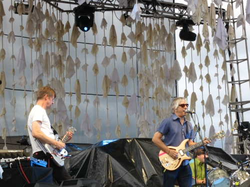 Lee Ranaldo Band - July 28, 2012 - Brewery Ommegang - Cooperstown, NY - Photo by Peter Cauvel