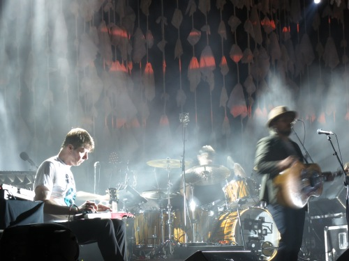 Wilco - Nels Cline, Glenn Kotche and Jeff Tweedy - July 28, 2012 - Brewery Ommegang - Cooperstown, NY