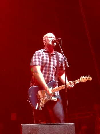 Bob Mould played at Williamsburg Park in Brooklyn - September 7, 2012 - Photo by Peter Cauvel