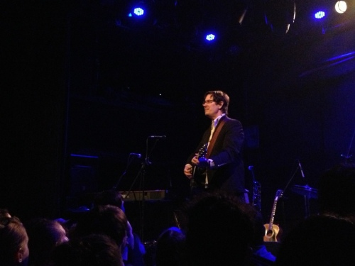 The Mountain Goats at the Bowery Ballroom - October 15, 2012 -- Photo by Peter Cauvel
