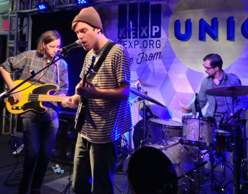 Wild Nothing at KEXP at CMJ -- Union Square Ballroom, Manhattan, New York -- CMJ 2012 -- Friday, October 19, 2012 -- Photo by Peter Cauvel