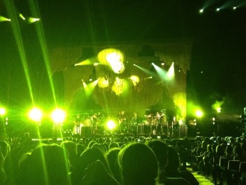 Bon Iver at Radio City Music Hall, September 22, 2012 - Photo by Peter Cauvel